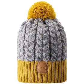 Reima Pohjola Beanie Kinder dark yellow